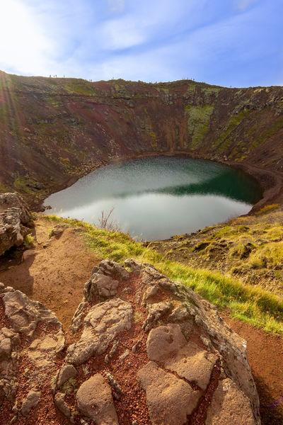 Iceland photography locations - Kerid Crater