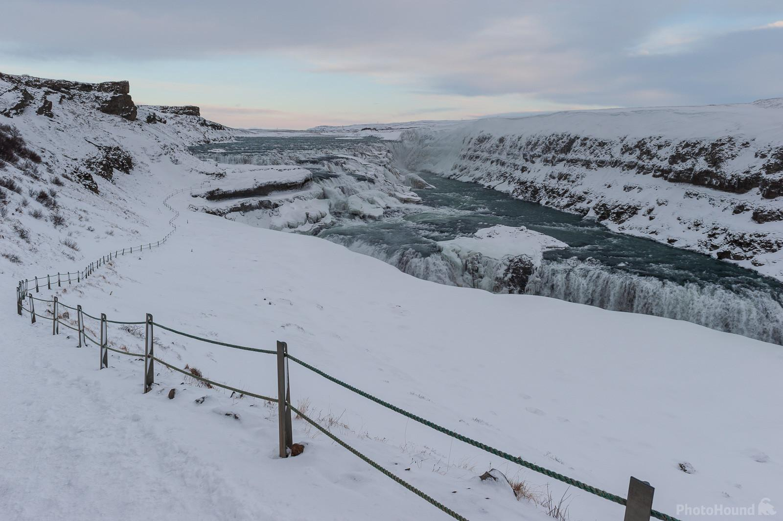 Gullfoss in Winter