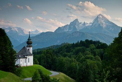 photo spots in Bayern - Pilgrimage Church of Maria Gern
