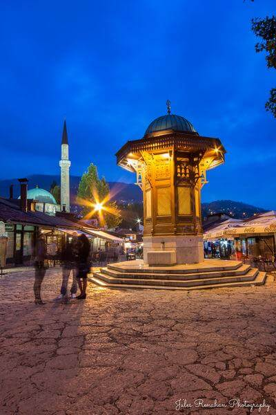 photos of Sarajevo - Sebilj Fountain at Baščaršija