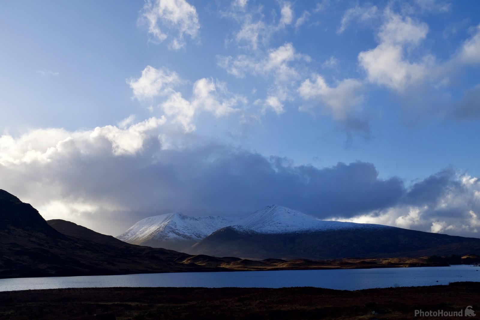 A cold late winter shot over Rannoch Moor