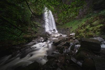 images of South Wales - Melincourt Falls