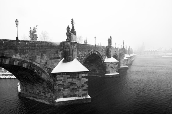 Charles Bridge from the Křížovnické Square