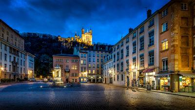 Auvergne Rhone Alpes instagram locations - St-Jean square in the Old Lyon