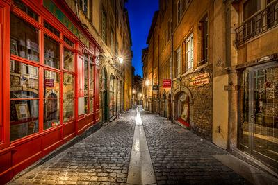 Auvergne Rhone Alpes photography spots - Beef street in the Old Lyon