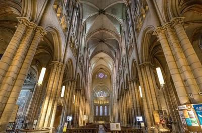 photography locations in Auvergne Rhone Alpes - Interior of the cathedral St-Jean