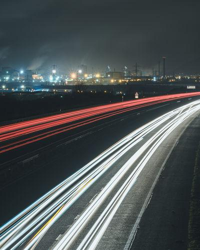 photos of South Wales - Port Talbot - M4 Overlook