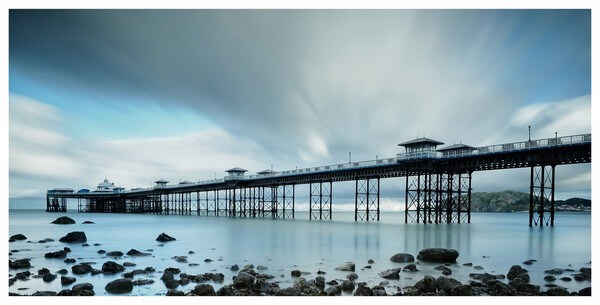 Llandudno Pier long exposure