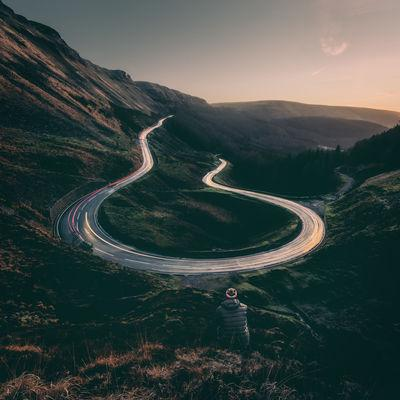 pictures of South Wales - Bwlch Hairpin
