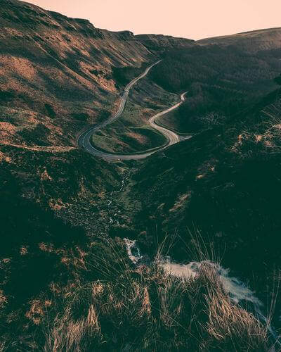 images of South Wales - Bwlch Hairpin