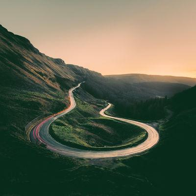 South Wales photo locations - Bwlch Hairpin