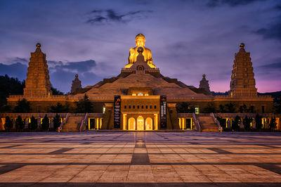 photo locations in Taiwan - Fo Guang Shan Buddha Museum
