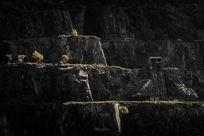 photo spots in North Wales - Dinorwic Quarry - Telephoto Viewpoint