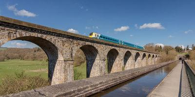 photography locations in North Wales - Chirk Aqueduct