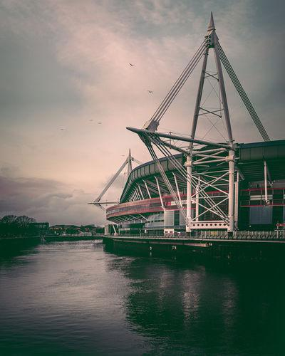 images of South Wales - Millennium Stadium & Taff River