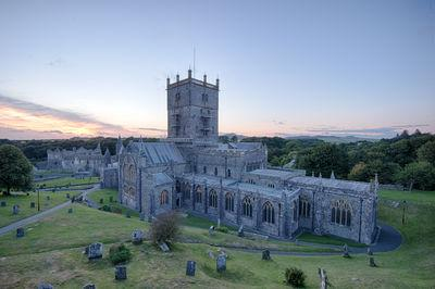 photography spots in South Wales - St David's Cathedral