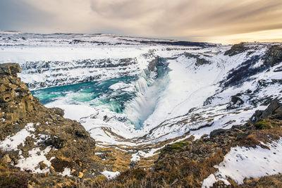 images of Iceland - Gullfoss