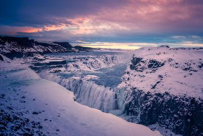 photo locations in Iceland - Gullfoss