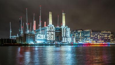 pictures of London - View of Battersea Power Station