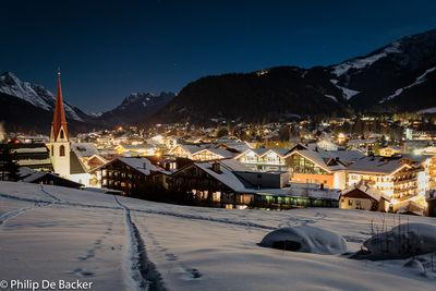 Seefeld in Tirol. A small town in Tirol has been a Olympic winter village in the past. Well know for winter sports.