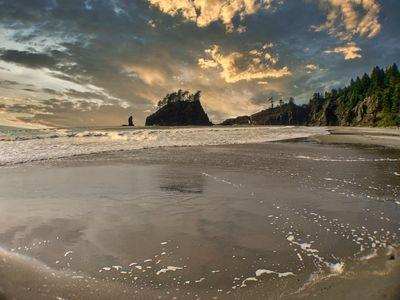 images of Olympic National Park - Second Beach