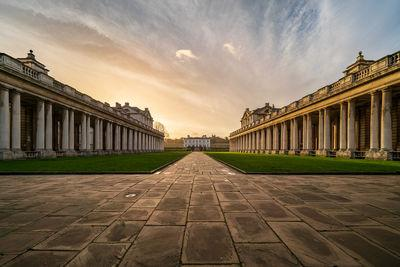 pictures of London - The Old Royal Naval College, Greenwich