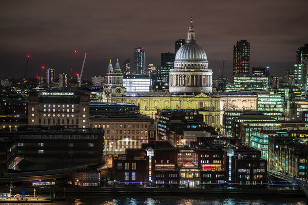 St Pauls from the viewing platform