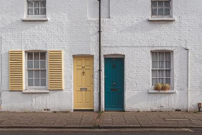 photos of London - Sheen Lane Shuttered Houses