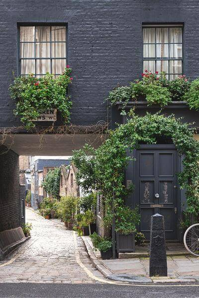 pictures of London - Warren Mews