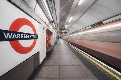 images of London - Warren Street Station