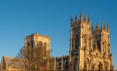 photography spots in England - York Minster from the city walls