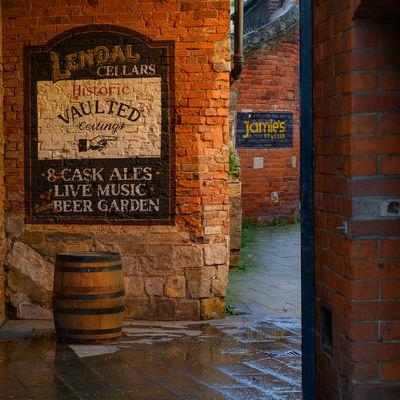 photography locations in England - Lendal Cellars