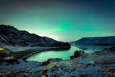 photo spots in Iceland - Kleifarvatn Lake