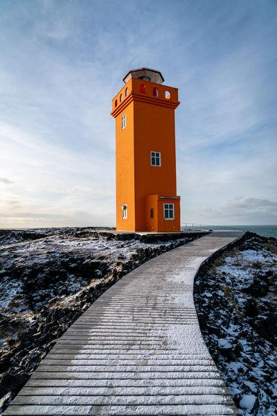 pictures of Iceland - Svortuloft Lighthouse