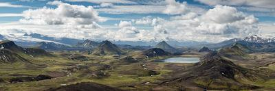 photo spots in Iceland - View to Alftavatn