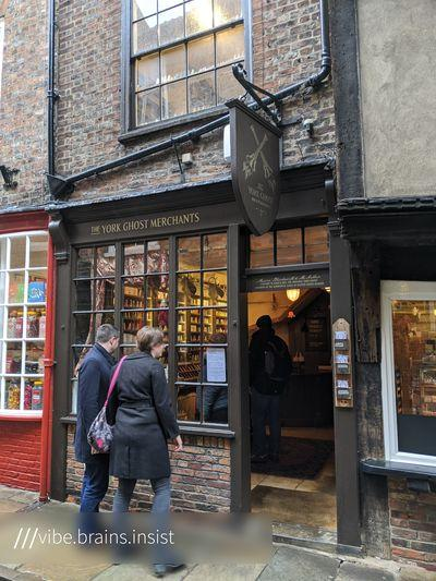 photo locations in England - York Ghost Merchants
