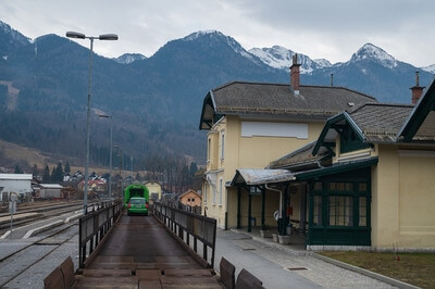 What's on in Lakes Bled & Bohinj - Bohinjska Bistrica - Most na Soči Car-train