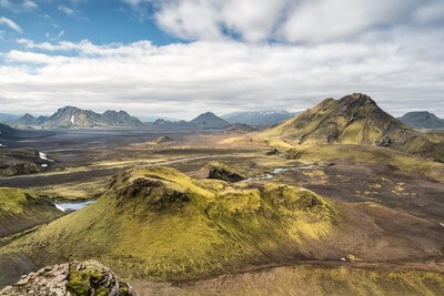 photo spots in Iceland - Hvanngilshausar