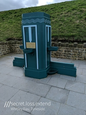 England photo locations - Whitley Bay drinking fountain