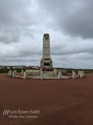 England photography spots - Whitley Bay cenotaph