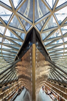 images of London - Cutty Sark - Interior and Deck