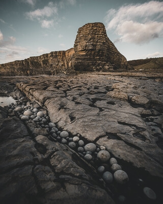 photos of South Wales - Nash Point