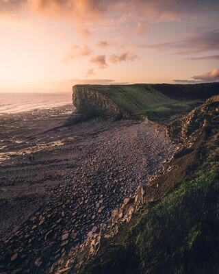 pictures of South Wales - Nash Point