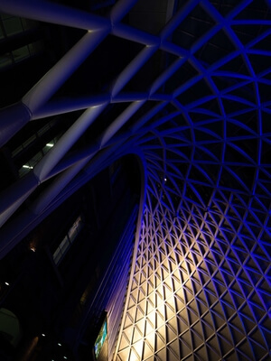 pictures of London - King's Cross Station