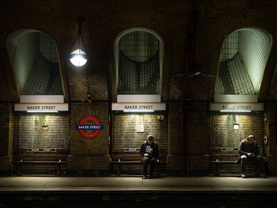pictures of London - Baker Street Tube Station