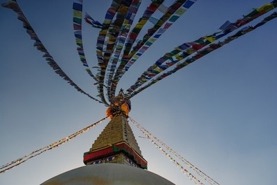 photography locations in Nepal - Boudhanath Stupa