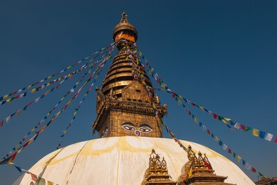 photo locations in Nepal - Swayambhunath Monkey Temple