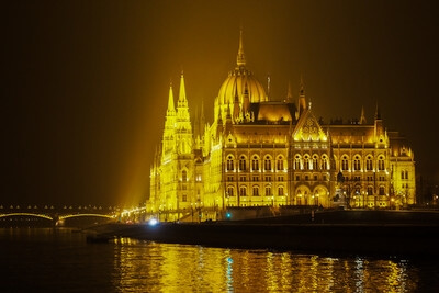 instagram spots in Hungary - Hungarian Parliament at Night (River Cruise)