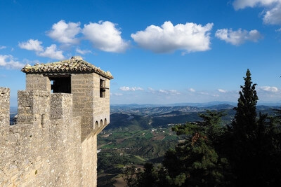 photography locations in San Marino - Cesta Castle, San Marino