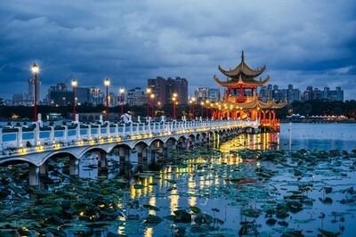 Taiwan photography locations - Lotus Pond